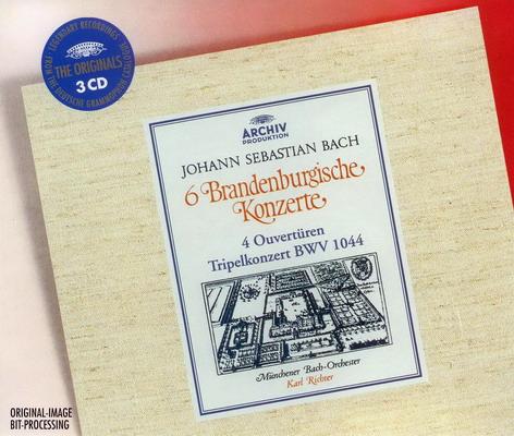 Bach - Brandenburg Concertos & Orchestral Suites (Ouvertures), Triple Concerto (1981) FLAC up.dla.EXSite.pl.