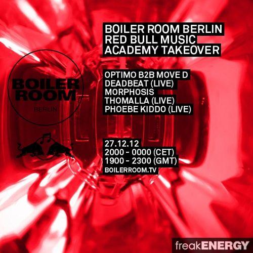 Deadbeat - Live @ Boiler Room Berlin (27-12-2012) up.dla.EXSite.pl.