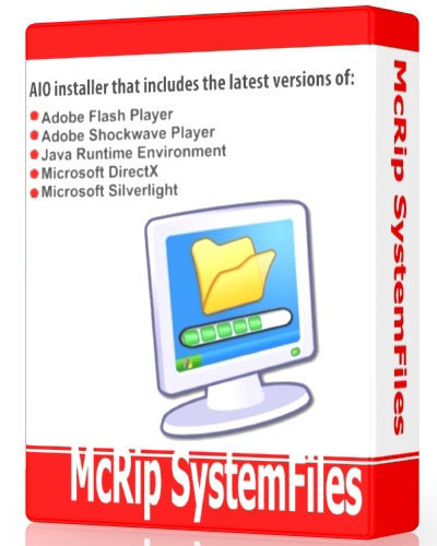 Flash Paketi McRipSystemFiles 1.4.5 32'64Bit 2013 EXSite.pl
