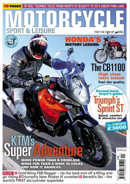Motorcycle Sport & Leisure UK - April 2013 (HQ PDF) EXSite.pl