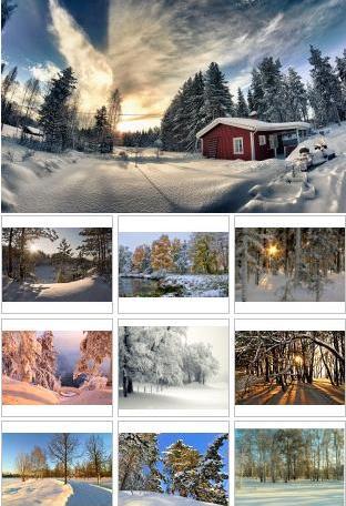 54 Winter Landscapes Wallpaper EXSite.pl