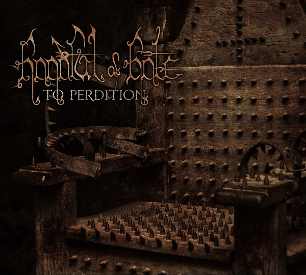 Handful Of Hate - To Perdition (2013) CoverP492i