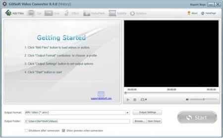 GiliSoft Video Converter 8.6.1