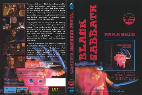 Classic Albums: Black Sabbath - Paranoid (2010)  DVD5
