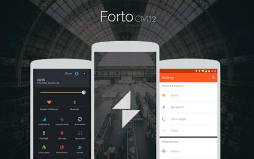 Forto - CM12 Theme v1.4 up.dla.EXSite.pl