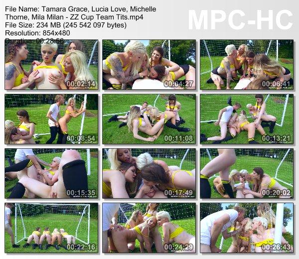 Tamara G, Lucia L, Michelle T, Mila M - ZZ Cup Team Tits (Bi