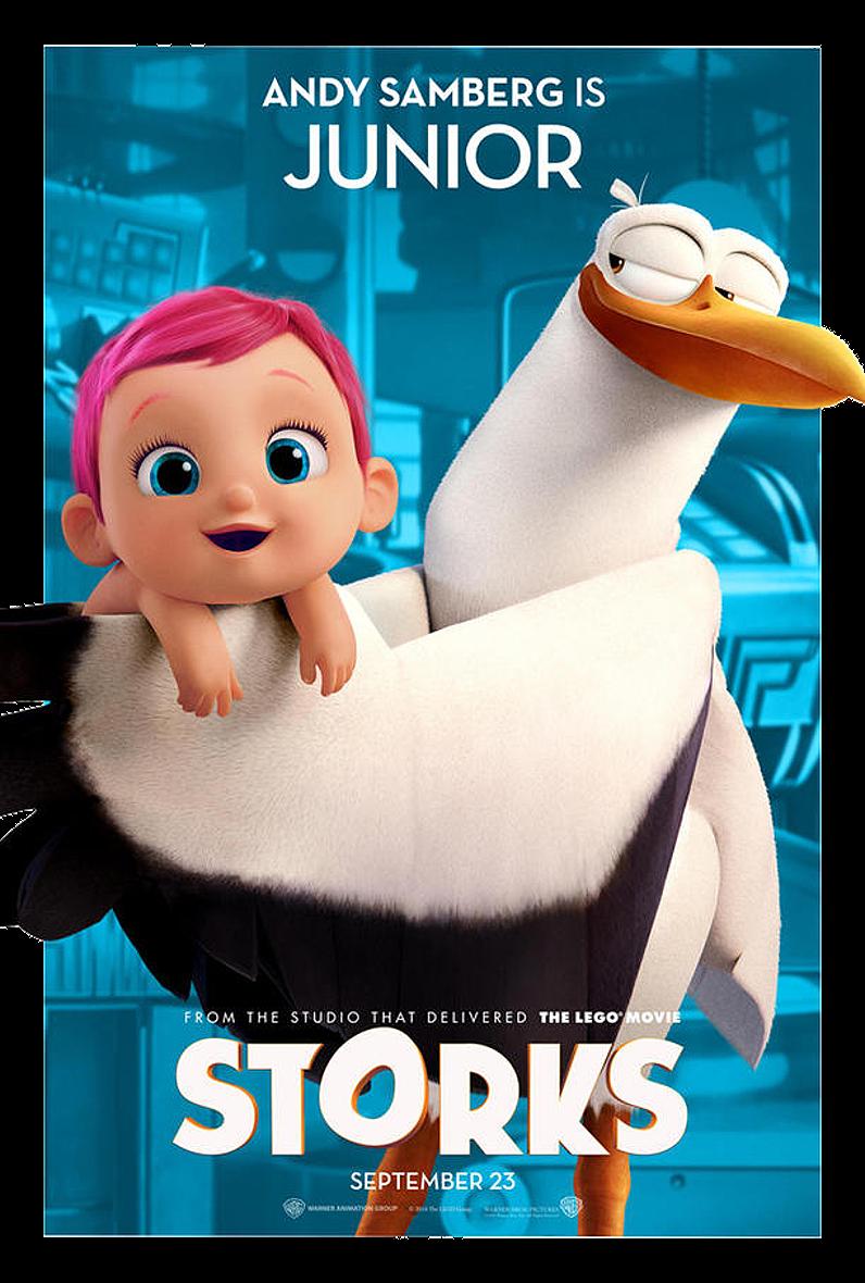 Čapi dobrodruzstvi / Storks (2016)