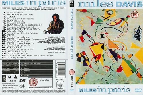 Miles Davis - Miles in Paris (2001)  DVD5