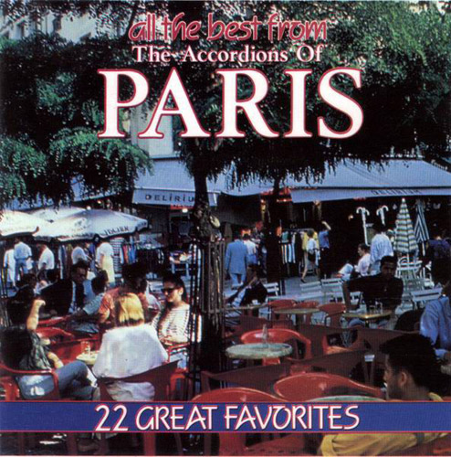 VA - All the Best From the Accordions of Paris (1993)