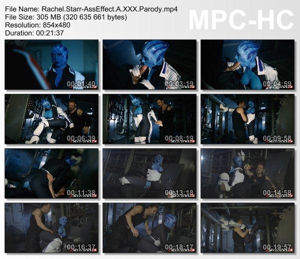 Rachel Starr - Ass Effect: A XXX Parody (DigitalPlayground)