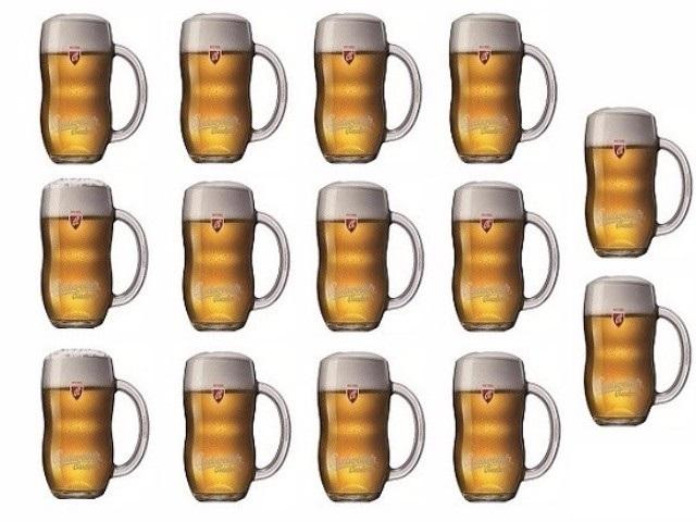 Jste z Kladna a chcete 14 piv 0,3l za 100 Kč?