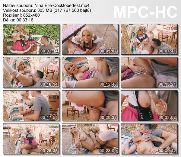 Nina Elle - Cocktoberfest (BrazzersExxtra)