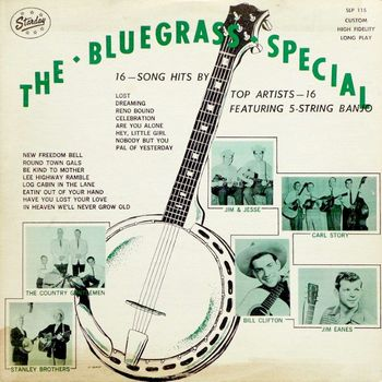 Various - Bluegrassová alba
