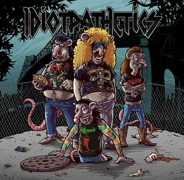 Новый альбом канадских ребят из группы Idiotpathetics, исполняю