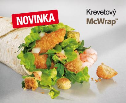 McWrap Krevetový